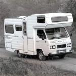 Uno dei primi Camper Arca 350 ( anni '70 )